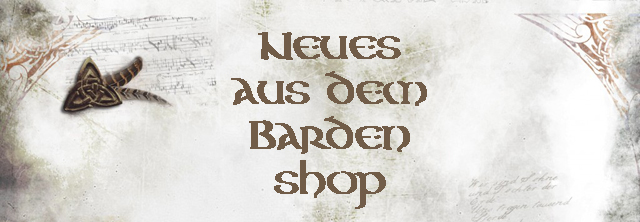 Wir verlosen: Musik aus dem Bardenshop für Dich !!